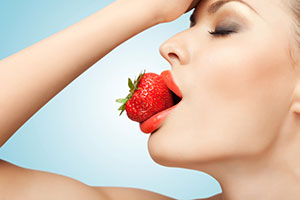 Strawberries help with blood circulation, give you energy and better sexual health